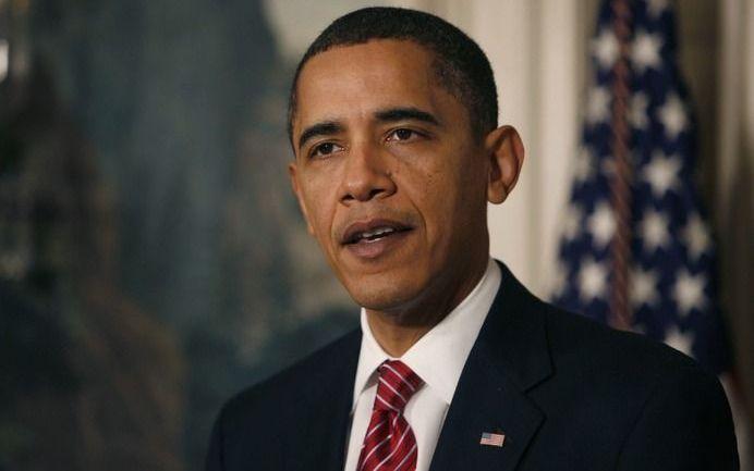 Obama: De tijd van praten is voorbij. Foto EPA