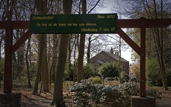 ERMELO – De Zendingskerk in Ermelo bestaat 150 jaar. De gemeente viert dat tot en met pinksterzondag. De kerk is onderdeel van de plaatselijke hervormde gemeente en kenschetst zich als een oecumenische geloofsgemeenschap. Foto RD, Henk Visscher