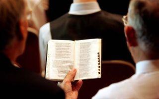 Wie zich in de eredienst niet beperkt tot de psalmen, zal toch de prioriteit van de psalmen als liederen voor de eredienst willen handhaven. Foto RD, Sjaak Verboom