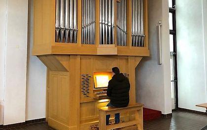 Het orgel van Nijsse in Soest. beeld hervormde gemeente Woudenberg