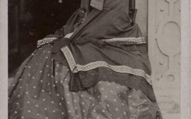 Catherine Marsh op oudere leeftijd.beeld National Portrait Gallery, Londen