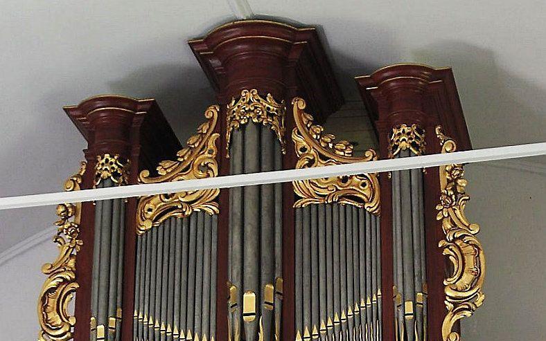 Het orgel van De Rijckere in Beek. beeld Stichting De Rijckere-orgel 1776