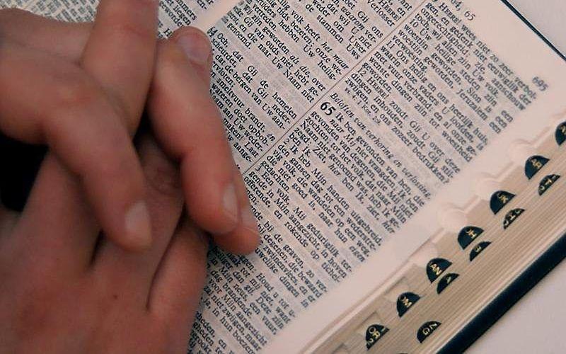 Bijbellezen. beeld EMG