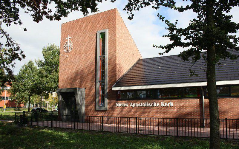 Nieuw-apostolische kerk in Zwolle. beeld Reliwiki