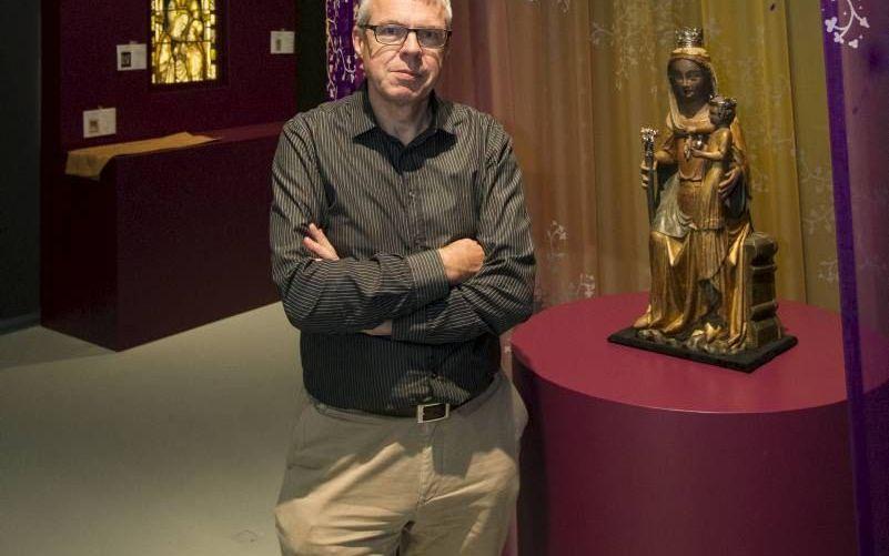Prof. dr. Johan Oosterman, samensteller van de tentoonstelling over Maria van Gelre. beeld RD, Anton Dommerholt
