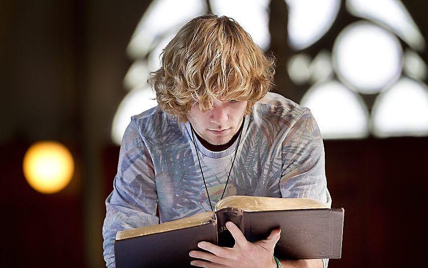 """""""God is meer dan de Bijbel. En dat houdt in, dat christenen niet overal een antwoord op hebben.""""  beeld RD, Henk Visscher"""