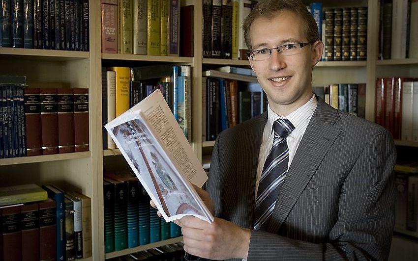 Dr. J.A. van den Berg Foto Jan Willem van Vliet