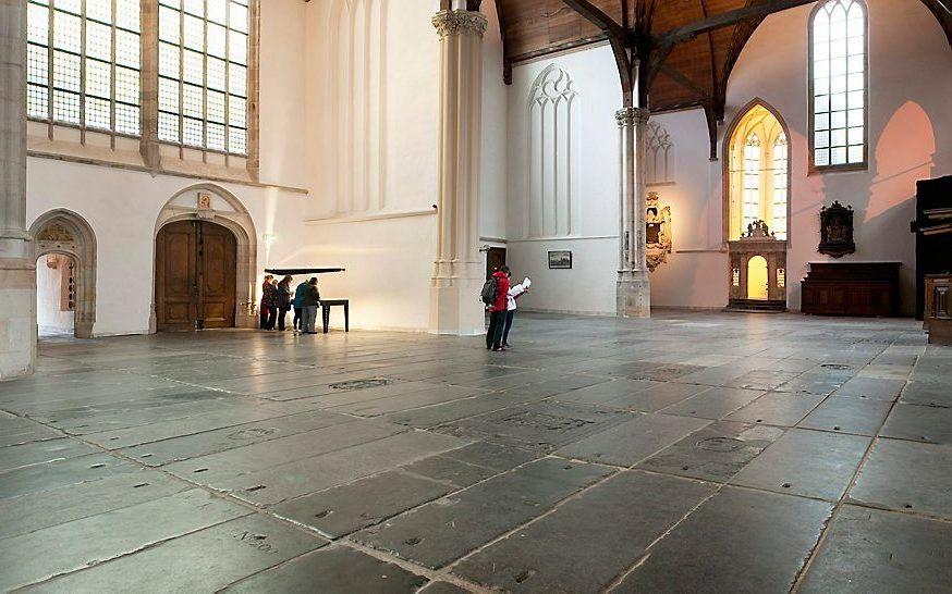 """""""De kerken in Nederland zijn meer en meer bezig te buigen voor de gedachte dat homoseksualiteit ook binnen de kerken aanvaardbaar moet zijn."""" beeld Oude Kerk Amsterdam"""