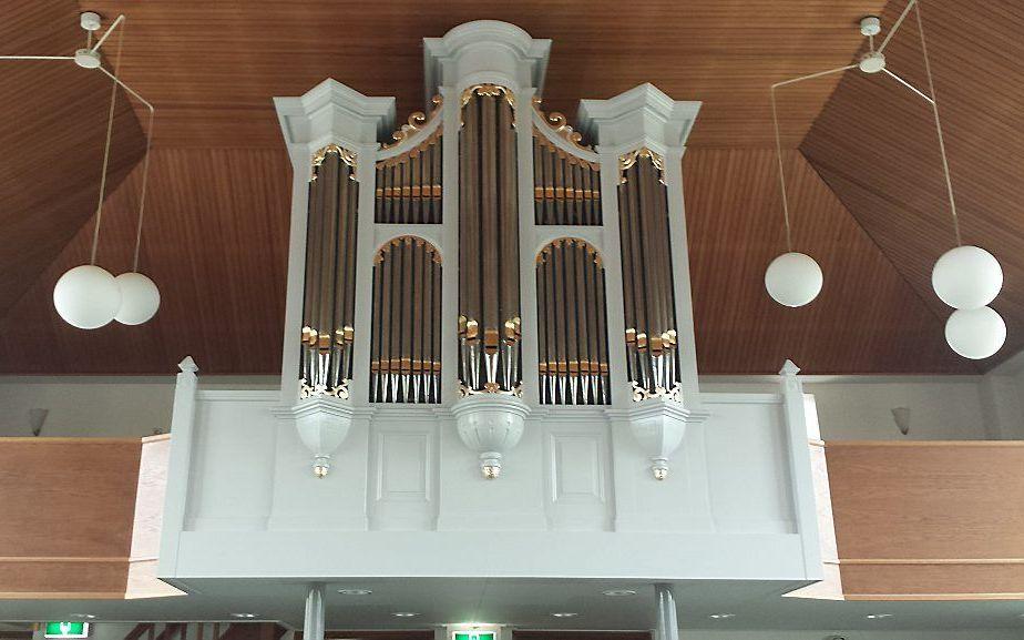 Het orgel in Nieuwaal. Beeld Jan van den Bosch