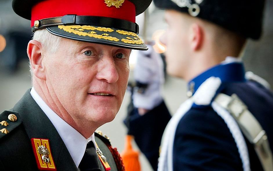 Generaal Peter van Uhm. Foto ANP