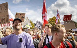 Het woonprotest. beeld ANP
