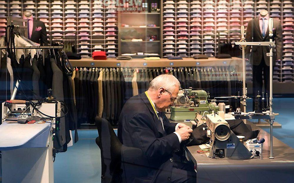 De winkel van Suitsupply op Schiphol. beeld ANP