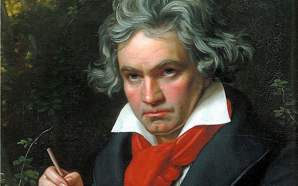 Beethoven. beeld Wikimedia
